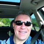 Daniel J. Mueller driving near Austin, Texas