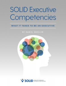 SOLID Executive Competencies ebook cover