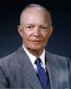 President Dwight D. Eisenhower, a master at driving action