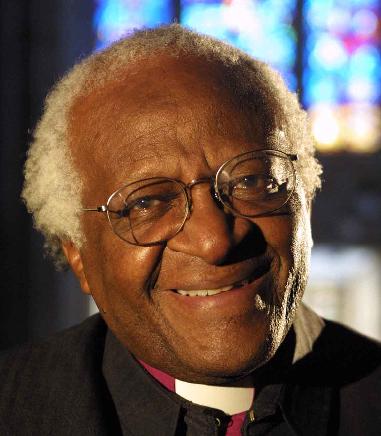 Anti-apartheid activist Desmond Tutu
