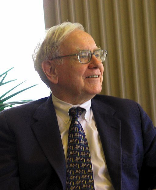 Warren Buffett, a master of self-discipline, in 2005